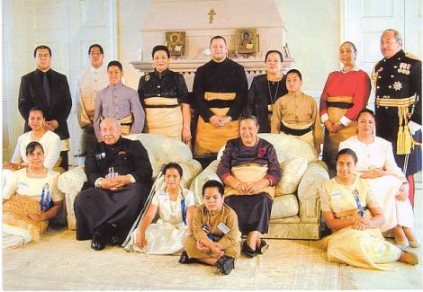 Tongan Royal Family 2000